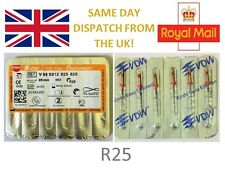 VDW Dental Reciproc Files - Endo Sterile M-WIRE NiTi Files   R25 25mm - UK STOCK