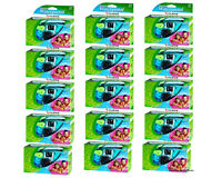 15 Pcs Fuji Underwater Waterproof Quicksnap 35mm Disposable Single Use Cameras