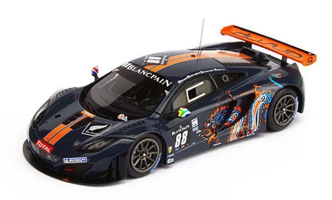 TRUESCALE 2012 McLaren MP4-12C GT3 Spa 24hr LE 300 pcs 1 18 New Item