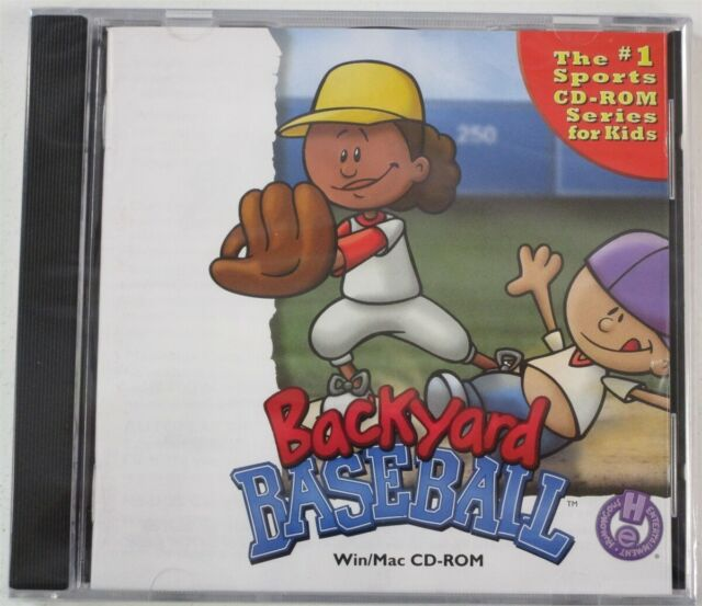 Backyard Baseball Jewel Case (Windows/Mac, 1999) for sale ...
