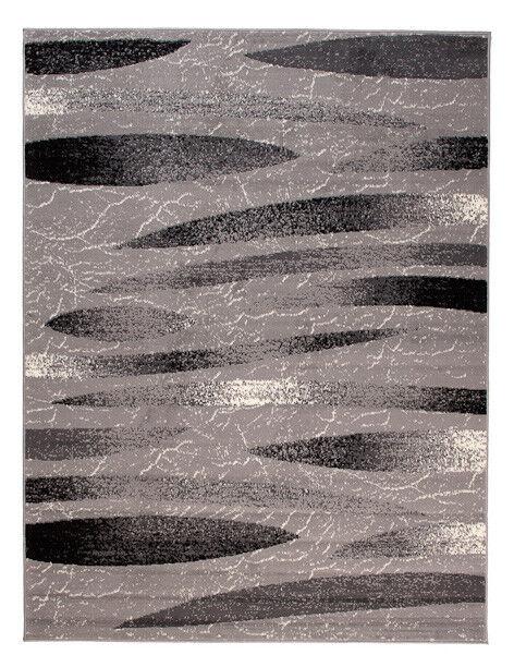 Teppich Wohnzimmer Grau Modern S-XXL Kurzflor 120x170 160x230 200x300 300x400   Abgabepreis