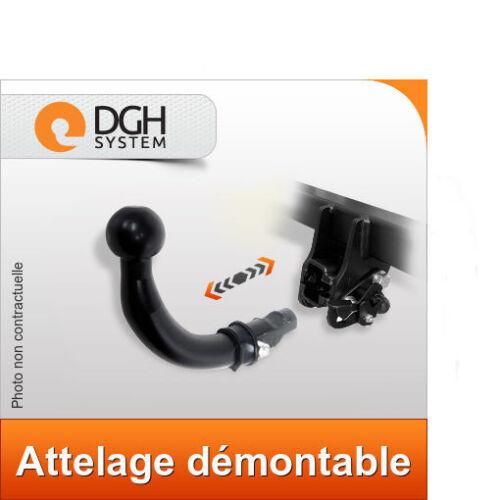 Attelage demontable horizontal Fiat Doblo 2001//2009