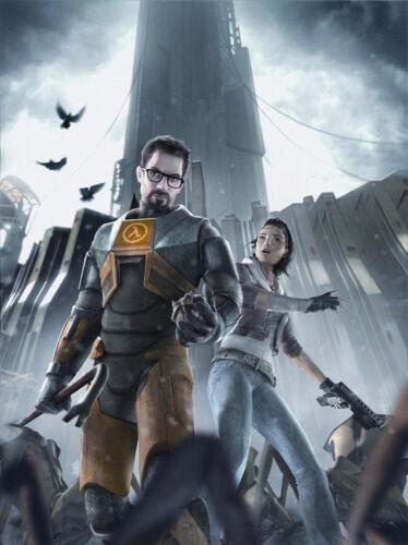 Game Poster Half Life 2 HF2 Shot Game 32x24 Poster