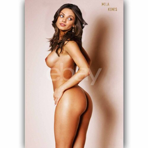 Custom Silk Poster Wall Decor Mila Kunis