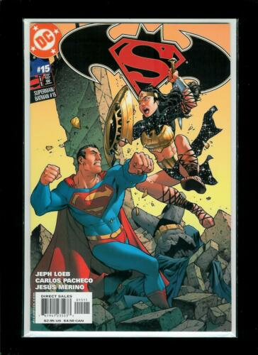 Flat Rate Combined Shipping! DC, 2005, VF // NM Superman Batman # 15