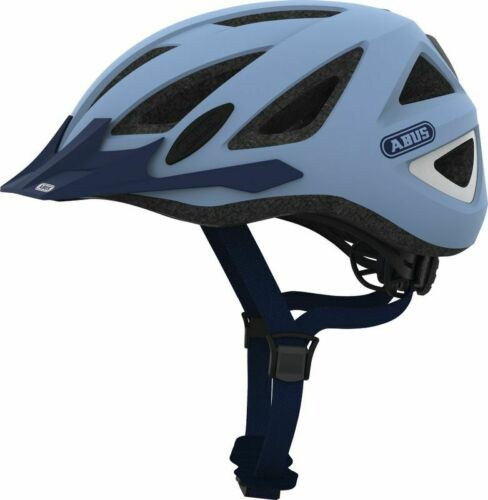 Various Colors ABUS Urban I 2.0 Multi Sport Helmet LED Light Adjustable Vented,
