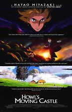 HOWL'S MOVING CASTLE Movie POSTER 11x17 Chieko Baisho Takuya Kimura Akihiro Miwa
