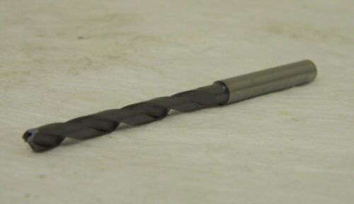 "Walter Titex 5066494 A6485TFT-5 0.1969/"" 140° Solid Carbide Oil-Feed Drill Bit"