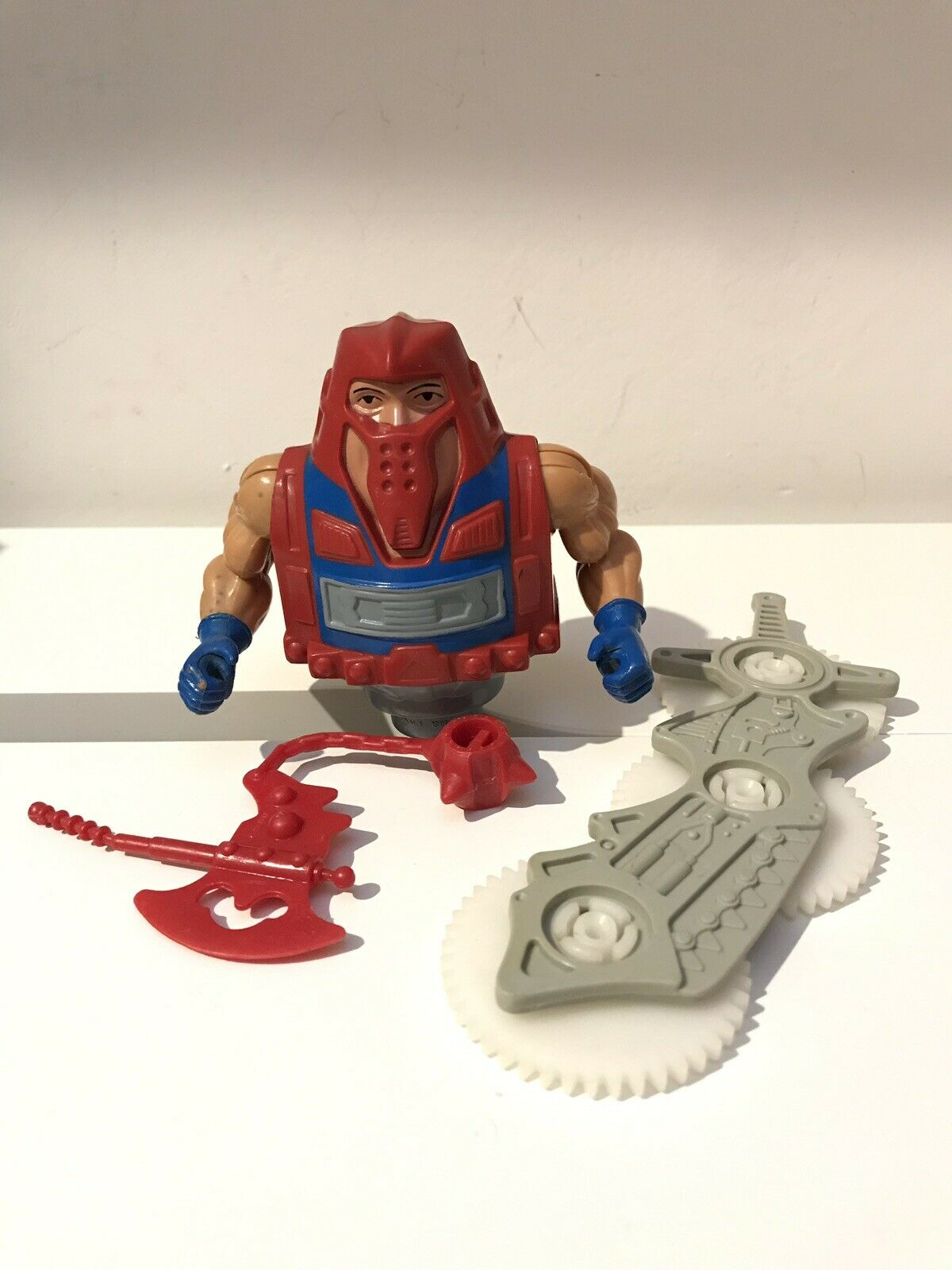 redar Vintage He-Man MOTU Original Masters of the Universe Near Complete