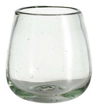 Recycled Stemless Wine Glasses, Set of 4 by World Market