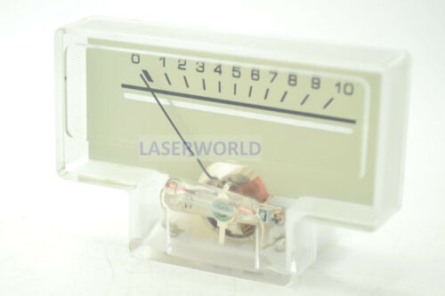 1pc Panel Meter SD-313B 58.5x39mm niveau 0 ~ 10 DCR = 630Ω