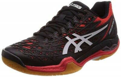 ASICS badminton shoes COURT CONTROL FF 1071A021 FIERY RED/SILVER ...