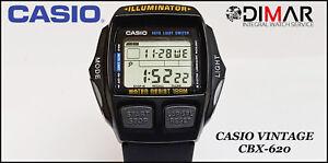 Detalles de VINTAGE CASIO CBX 620 1V, LAP MEMORY (BIKER) WR.100 QW.1464 JAPAN AÑO 1996