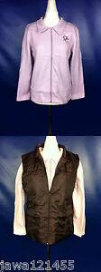 Womens-Fleece-Jacket-with-Body-Warmer-2-pc-Set-New-size-Medium