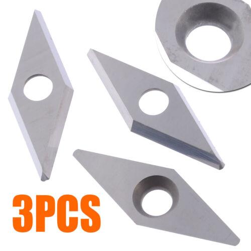 3pcs Ci4 28mm*10mm Diamond Carbide Cutter Insert fits Easy Wood Tools Ci4