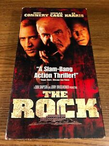 The Rock Vhs Vcr Video Tape Movie Nicolas Cage Sean Connery Used 786936018042 Ebay