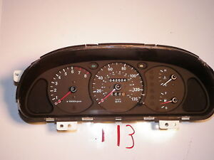 Image Is Loading 00 01 Kia Spectra Sdometer Head Cer Gauges