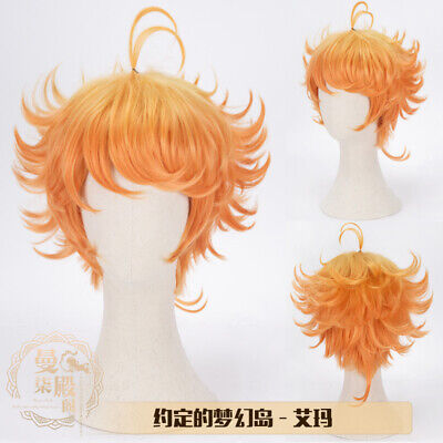 The Promised Neverland Yakusoku no Neverland Norman Costume Cosplay Hair Wig Hot