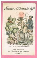 CPA - 17 - ILLUSTRATEUR - WILLETTE  - SEMAINE DE LA CHARENTE INFERIEURE  en 1917