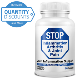 STOP-Inflammation-Arthritis-amp-Joint-Pain-MSM-Methylsulfonylmethane-QTY-Discount
