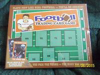 Football Trading Card Board Game Educational Pick Teams Goals