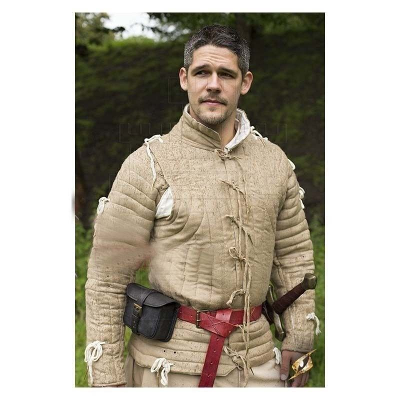 Gambeson Medieval armor Padded armor Long Gambeson SCA LARP renaissance Costumes
