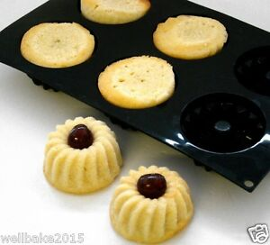6 Hole **BUY 1 GET 1 FREE** WellBake Mini Savarin Bundt Doughnut Mould