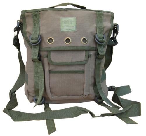 Mens Travel Shoulder Bag Satchel Combat Messenger Army Military Surplus Green