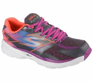 d2754c3781 NEW WOMENS SKECHERS GORUN RIDE 4 PERFORMANCE LACE UP PURPLE GRAY ...