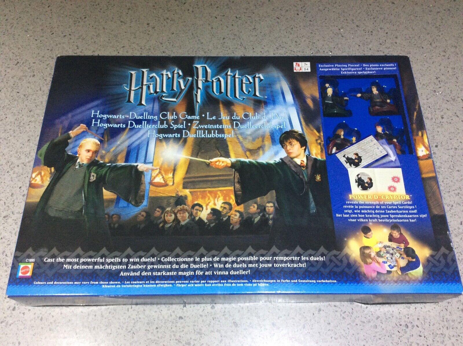 Harry Potter Hogwarts duello di CLUB GIOCO by Mattel, 2003-NUOVO  SIGILLATO