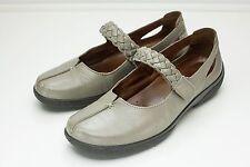 Hotter Shake 9.5 Stone Mary Jane Shoes Women's
