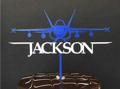 Personalised Star Wars Fighter Cake Topper