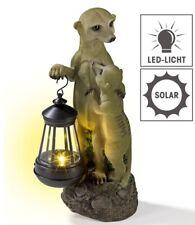 Solarleuchte LED Erdmännchen 30 cm