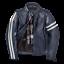 Dainese-Freccia72-Blue-Leather-Retro-Jacket-Motorcycle-Jacket-New miniature 1