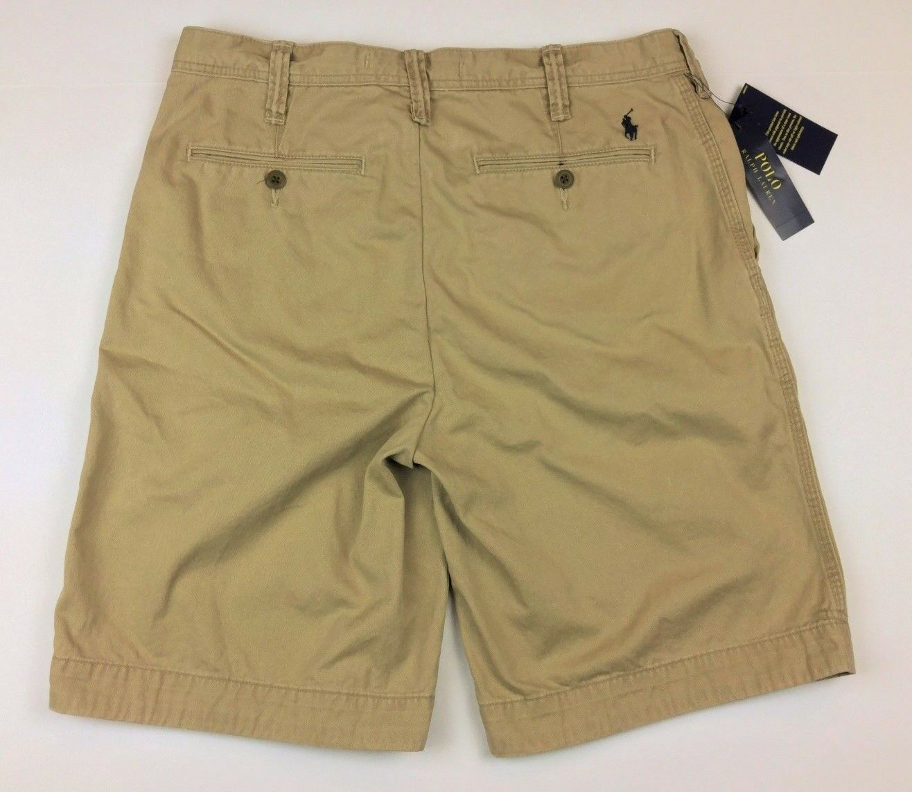 746483835e54c0 Ralph Lauren Men Relaxed Fit Cotton Brown 31 Polo Shorts ozilzx21902-Shorts