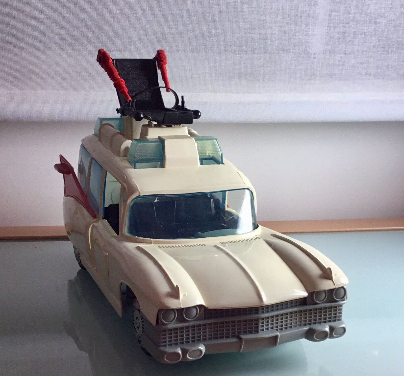 1980s Vintage Real Ghostbusters Kenner Action Figure Ecto1 Car Toy