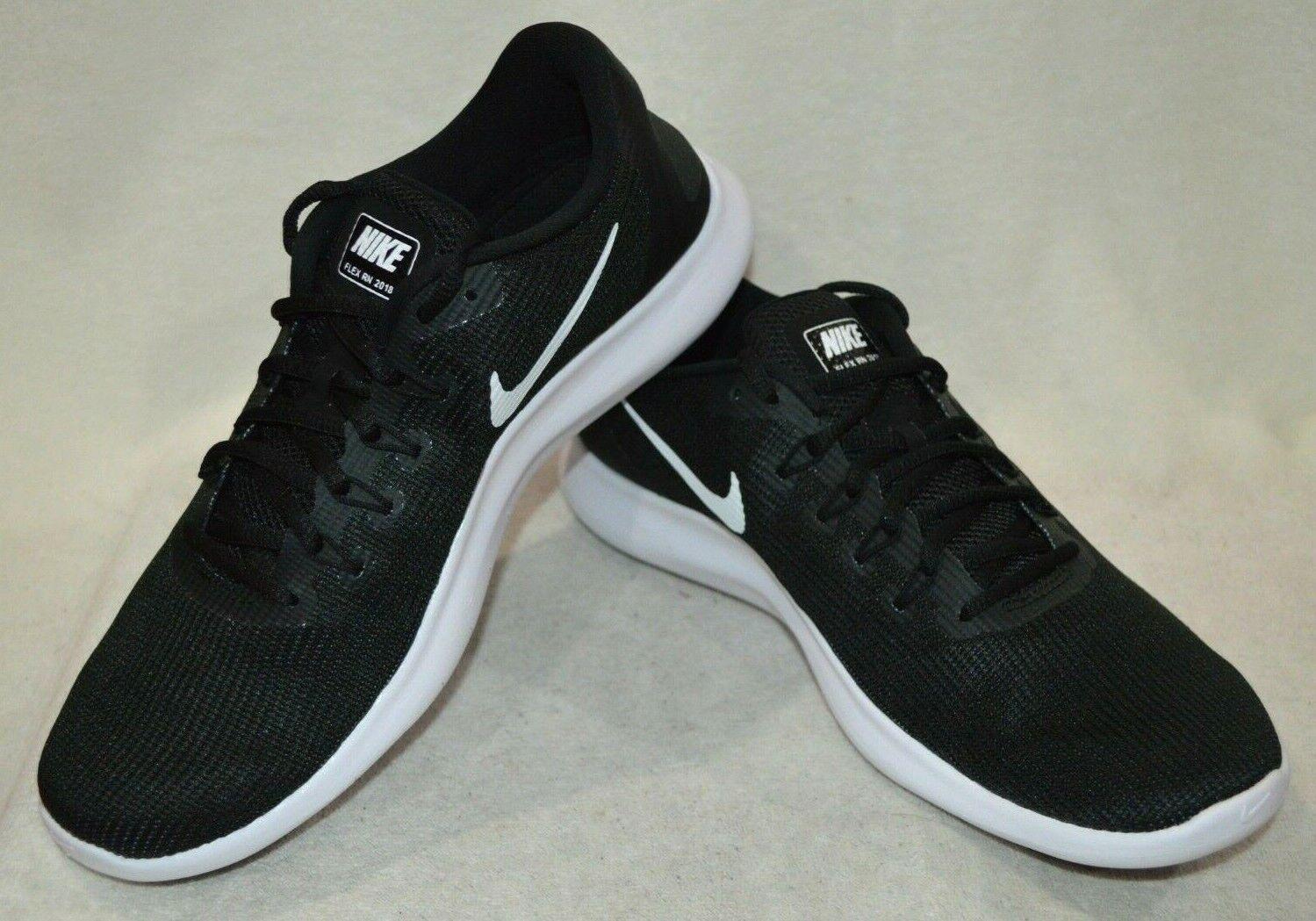 Nike Men's Flex 2018  RN nero  bianca Running scarpe -Assorted Dimensiones NWB AA7397 -018  all'ingrosso economico e di alta qualità