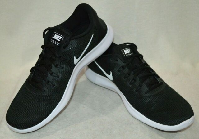 super servicio mejores zapatillas de deporte seleccione para genuino Nike Men's Flex 2018 RN Black/White Running Shoes-Assorted Sizes ...