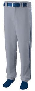 Augusta-Sportswear-Men-039-s-Polyester-Open-Bottom-Baseball-Softball-Pant-1495