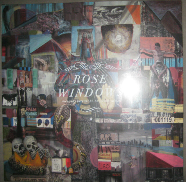 "12"" Vinyl LP NEU + OVP Rose Windows ‎– Rose Windows --  Foxygen SUB POP"