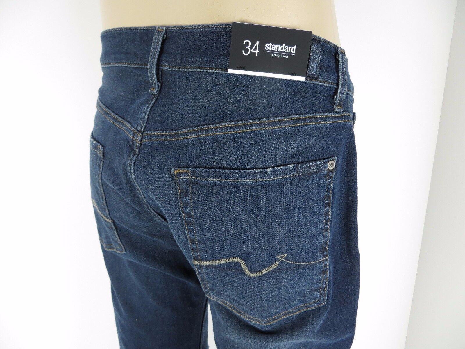 Nuevo con  etiquetas 7 Seven for all mankind, Hombres Jeans, estándar, pierna recta, no, tamaño 34  grandes precios de descuento
