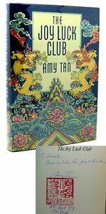 Amy Tan THE JOY LUCK CLUB Signed 1st 1st Edition 23rd Printing