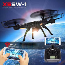 New X5SW-1 Wifi FPV RTF 2.4G 4CH RC Quadcopter Camera Drone with HD Camera Black