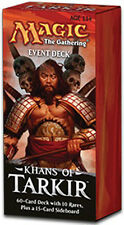Mazzo da Evento/Event Deck: Conquering Hordes MTG MAGIC Khans of Tarkir English