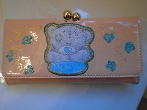 NEW-GORGEOUS-PINK-034-ME-TO-YOU-TATTY-BEAR-034-PICTURE-PURSE-WALLET