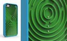 VÉRITABLE PURE GEAR GROOVY étui pour iPhone 5S 5 & SE en bleu VERT LIQUIDATION
