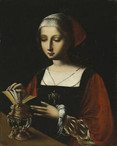 high-quality-oil-painting-handpainted-on-canvas-034-Mary-Magdalene-Reading-034