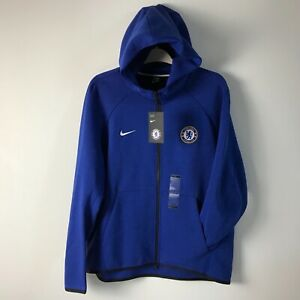 Nike Chelsea FC Football Soccer Windrunner Jacket Blue Full Zip 919580-495 S