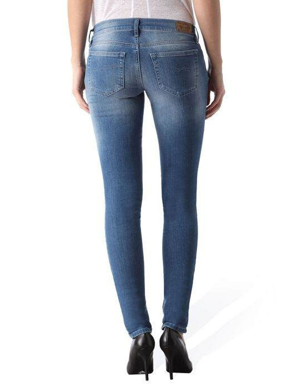Donna DIESEL GRUPEE 0670k 0670k 0670k Pantaloni Jeans skinny super slim de4341