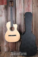 Martin 000c Nylon String 000-12 Fret Cutaway Acoustic Guitar With Hardshell Case on Sale